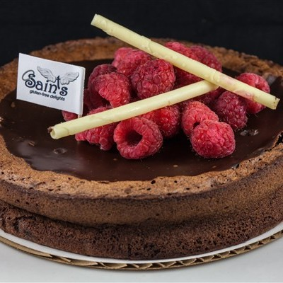 FLOURLESS CHOCOLAE CAKE (600 x 400)