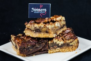 chocolate bourbon pecan bars (2)