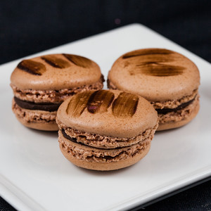chocolate-macaron