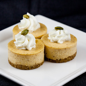 pumpkin-mini-cheesecak