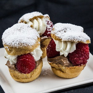 saints cream puff